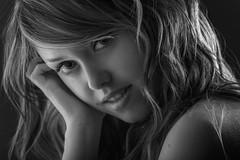 SARA (jmsoler) Tags: portrait blancoynegro bn nikkor2470mmf28 2016 zaragoza gente girl espaa jmsoler bowensgemini500r woman retrato mujer estudio bowens nikond800 blackandwhite sarajimnez