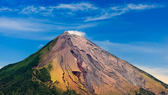 101348698 (bruno_colombi1) Tags: active ash beauty centralamerica colorful cone crosssection cyndercone erupting eruption geology island landscape lava minerals mountain nicaragua ometepe peak steam volcano