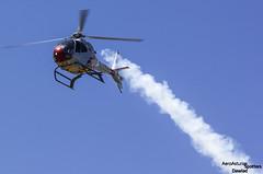 HE.25-15 soltando humo (Dawlad Ast) Tags: festival aereo gijon 2016 air show asturias espaa spain july julio san lorenzo bay bahia 16 eurocopter ec120b colibr he2515 patrulla aspa ejercito del aire sn 7834 helicoptero copter acrobatica