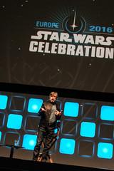 Mark Hamill - Star Wars Celebration London 2016 (CC Chapman) Tags: swce starwars starwarscelebration swcepics markhamill lukeskywalker