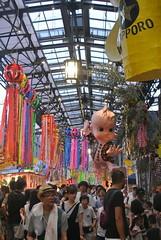 nagoya15770 (tanayan) Tags: urban town cityscape aichi nagoya japan nikon j1 shopping street road alley tanabata endoji