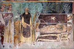 bosa (heavenuphere) Tags: oristano sardegna sardinia sardinie italia italy europe island castle castello malaspina chapel mural painting fresco 24105mm