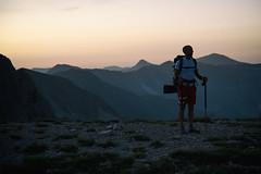 Night is coming (Pernin) Tags: adventure trekking hiking trail mountains sibillini appennini laghi di pilato montevettore italy landscape marche umbria