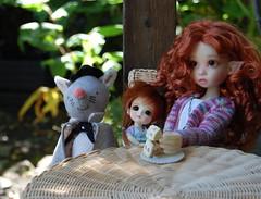 City Mouse (Emily1957) Tags: citymouse countrycousins handmade latithewizardofoz gracie kayewiggs resin dolls doll toys toy bjd light naturallight nikond40 nikon kitlens elf