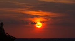 Fireball (ArtGordon1) Tags: sunset sunrays sun summer evening august 2016 sky clouds cloud nature weather davegordon davidgordon daveartgordon davidagordon daveagordon artgordon1 london england uk walthamstow
