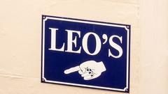 Leo's (grahamrobb888) Tags: panasonictz60 teesidefowey signpost