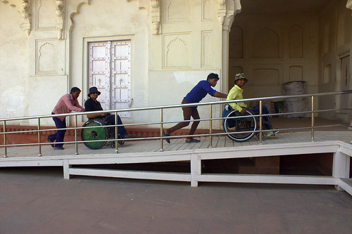 Accessible Tour to Agra:We customize our tours based on the specific disabilities of our travellers