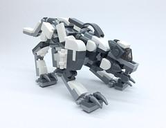 LEGO Mech Wolf (ToyForce 120) Tags: lego robot robots mecha mech mechanic weapon wolf animal zoids legomech legomoc