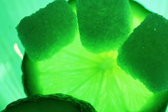 Sweet and Sour (acwills2014) Tags: macromondays sugar lime abstract opposites sweet sour tart green