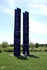 Franconia Sculpture Park. www.jessica365.com (Jessica Brookes-Parkhill) Tags: minnesota sculpture jessica365 franconiasculpturepark