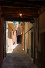 Villefranche-sur-Mer - Rue Obscure (CocoChantre) Tags: villefranchesurmer provencealpesctedazur frankreich fr dark tunnel spooky scary lantern