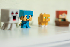 All Lined Up | 217/366 (Cassidy Jade) Tags: stilllife minecraft minifigures 366the2016edition 3662016 day217366 4aug16 cy365 366 366project