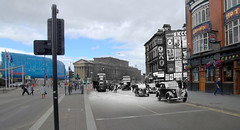 Lime Street, 1950s in 2016 (Keithjones84) Tags: liverpool oldliverpool thenandnow rephotography merseyside limestreet history localhistory architecture