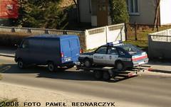 D189 - FSO Polonez Caro Plus - KP Beyce (pawelbednarczyk) Tags: d013 daewoo korando d159 fiat ducato d140 d172 skoda octavia d123 opel astra ii d193 d190 kia sportage d152 corsa d176 aro 245 d173 ford transit d189 fso polonez beyce lubelskie policja radiowz radiowozy komisariat policji hpd