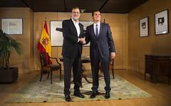 Mariano Rajoy se rene con Albert Rivera en el Congreso (Partido Popular) Tags: marianorajoy rajoy pp partidopopular albertrivera congreso