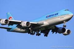 HL7632 - Boeing 747-8B5 - Korean Air - CN 40907/1524 (Bastien Spotting Aviation) Tags: bastien engerbeau frankfurt fra hl7632 boeing 7478b5 korean air cn 409071524
