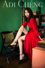 Adi_0035 (Adi Chng) Tags: adichng girl      redgreen