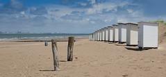 Badehtten-9991 (Peter Paulhart) Tags: vlissingen strand zeeland niederlande