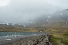 Kirkjufell 15 (sarahmonious) Tags: kirkjufell snfellsnespeninsula snfellsnes mountain churchmountain fog ringroad route1iceland route1 iceland iceland2016 travelingkirkjufell traveling