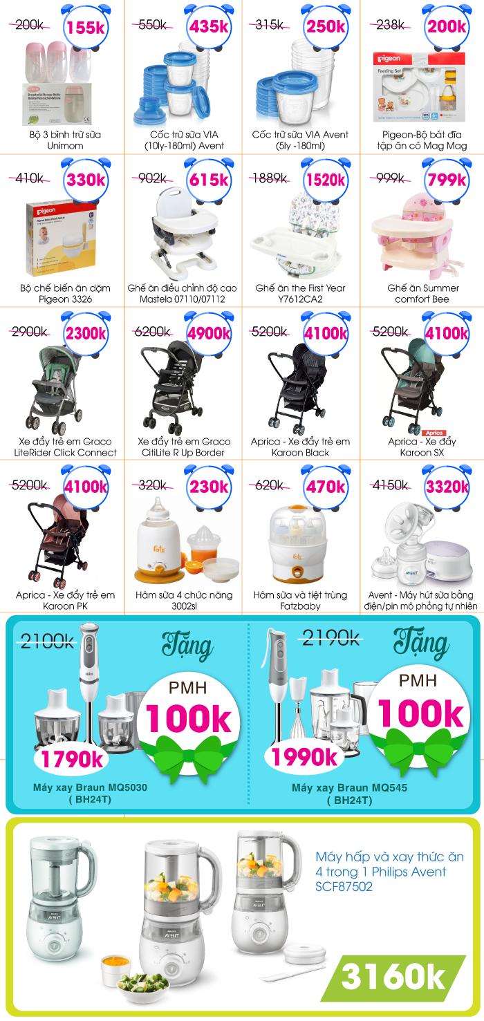 Lucky Friday: List sản phẩm giá vàng Online 13H - 15H Thứ 6 (09/09/2016)