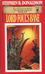 Novel-Lord-Foul's-Bane-by-Stephen-R-Donaldson (Count_Strad) Tags: novel cover art coverart book western scifi wwii