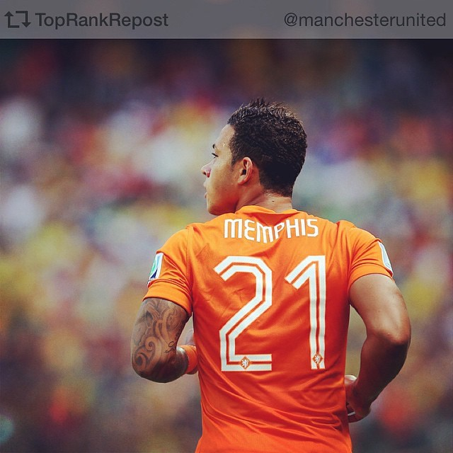 Repost from @manchesterunited Manchester United has reached an agreement with PSV Eindhoven and MEMPHIS DEPAY for the players transfer, subject to a medical, once the transfer window opens in June. #mufc