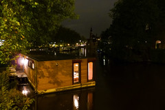 Amsterdam (■ dieffe) Tags: water amsterdam canal agua eau houseboat bynight acqua canale noordholland lanuit notturno canali dinotte paesibassi casagalleggiante enlanoche casaflotante casegalleggianti