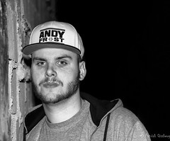 Mr Andy Frost (gissberg) Tags: portrait blackandwhite andy frost hip hop canonef70200mmf4lisusm soundcloud canoneos5dmarkiii mrandyfrost