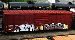 ICH - cuba (timetomakethepasta) Tags: train graffiti cuba yme ianr boxcar ich freight ichabod gfr