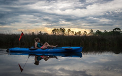 """Day 158- Relaxing late aternoon! (Wishard of Oz) Tags: sunset kayaking day158 2015 project365 edition"""" 365the millbayou 2015yip 365in2015 27152992 07jun15"""