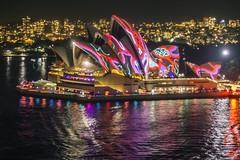 Vivid Sydney 2015 - Opera House (Kokkai Ng) Tags: red house opera sydney vivid 2015