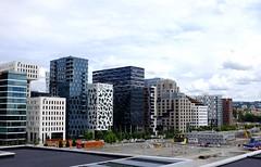 Oslo, Norway. Barcode architecture (Werner Olsen) Tags: oslo norway skyline architecture x barcode fujifilm 100 x100t