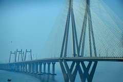 (Rick Elkins Trip Photos) Tags: mumbai maharashtra india bridge bandraworlisealink