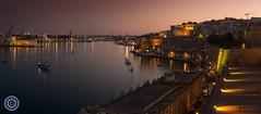Valletta Sunset (Michael N Hayes) Tags: malta valletta mediterranean europe sunset grandharbour summer fujifilmxpro1 sea culture city