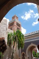 Epcot - World Showcase - Morocco - Bab Boujounoud (jrozwado) Tags: usa epcot gate florida northamerica waltdisneyworld worldshowcase   boujouloud