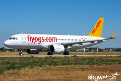 @TC-NBA_BLQ_13-08-16 (Andrea Lugo) Tags: tcnba pegasus airlines airbus a320 neo bologna blq lipe istanbul saw planespotting