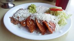 Enchiladas potosinas (-Angie Z) Tags: food mxico comida slp huasteca comidamexicana sanluispotos ciudadcolonial plazadearanzaz ciudadescoloniales enchiladaspotosinas museoregionalpotosino