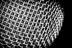 When Sound Gets Out (Steven Santamour Photography) Tags: blackandwhite detailed macro mesh metal microphone music patterns sound