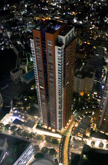 Riches lives there like Trump Tower in this building. (sapphire_rouge) Tags: sculpture japanese  night  nightview   japan roppongi tokyo
