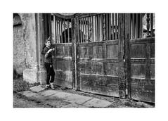 Girl (Jan Dobrovsky) Tags: 28mm bw contrast girl grain krasnalipa leica monochrome outdoordocument people summicron