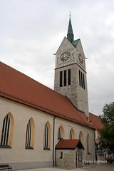 08-IMG_2926 (hemingwayfoto) Tags: bayern giebel gotisch kirche neustadt neustadtdonau religion stlaurentius stadtkirche turm uhr
