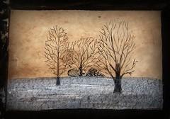 Autumn (patrick.verstappen) Tags: pen inkt drawning trees texture textured twitter nikon d7100 sigma watercolor photo picassa pinterest pat painting picmonkey ipernity ipiccy art flickr facebook