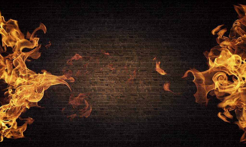 fiery glow burning sunset - photo #32