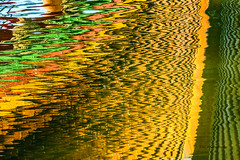 Abstract ships bow reflected in water (TAC.Photography) Tags: abstract refelctions shipsbow zigzag colors waterreflections