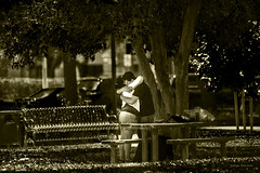 I LOVE YOU (GeorgeTsai 168) Tags: happy chinese valentines day love black white bw