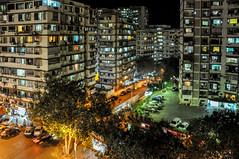 View from the Regency Hotel (Harold Brown) Tags: apartment architecture building citystreets cityscape haroldbrown india maharashtra malabarhill mumbai night nikon nikond90 outdoor travel bhagavideocom haroldbrowncom harolddashbrowncom highway photosbhagavideocom road