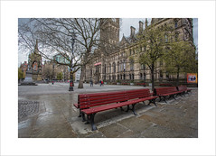 Manchester Town Hall (andyrousephotography) Tags: manchester townhall victorian neogothic manchestercitycouncil albertsquare albertmemorial architect alfredwaterhouse 1877 clocktower 280ft bell greatabel
