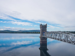 Vartry 01 (Frankie Brennan) Tags: vartry wicklow leinster ireland water sky tower mountains bridge blue green resevoir olympus omd em5 f10 landscape lake light