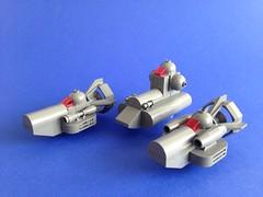 Grey Micro fleet (81941) Tags: 81941 lego microspacetopia