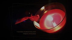 Red Candle (Al_Sawsan) Tags: red candle darkness